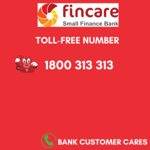 Fincare small finance bank helpline number
