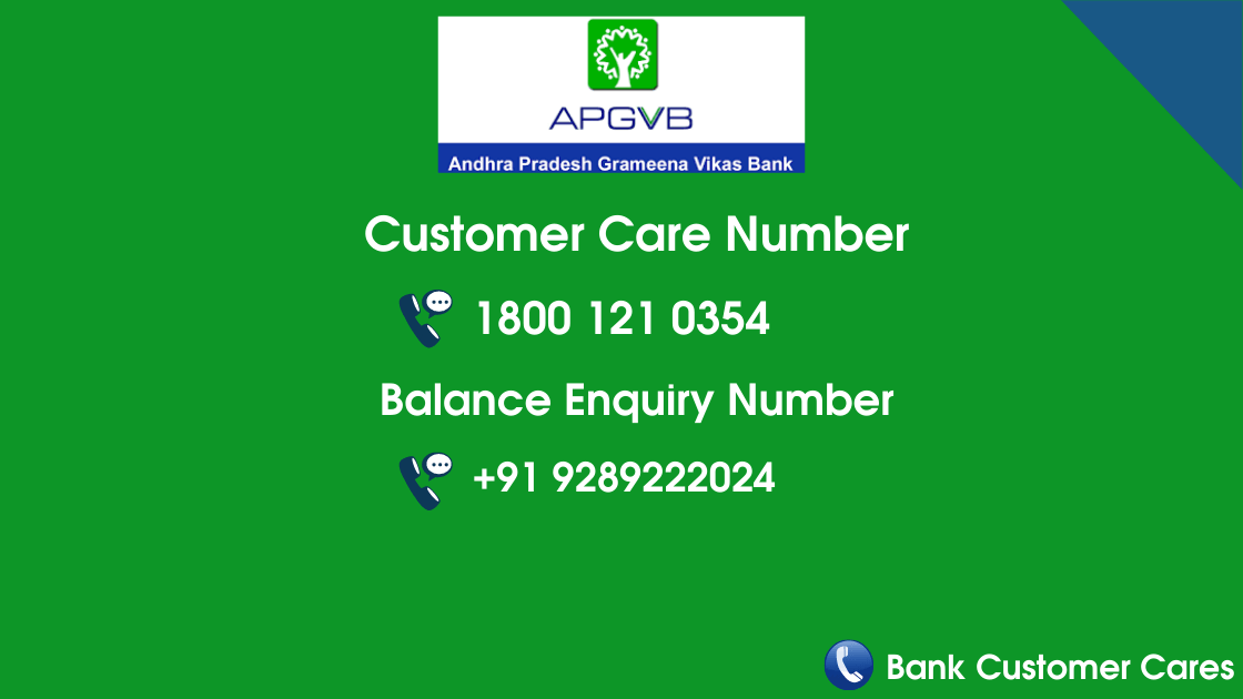 APGVB Customer Care Number & Balance Check